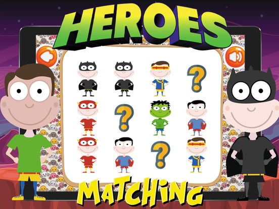 Super Heroes Card Matching screenshot 8
