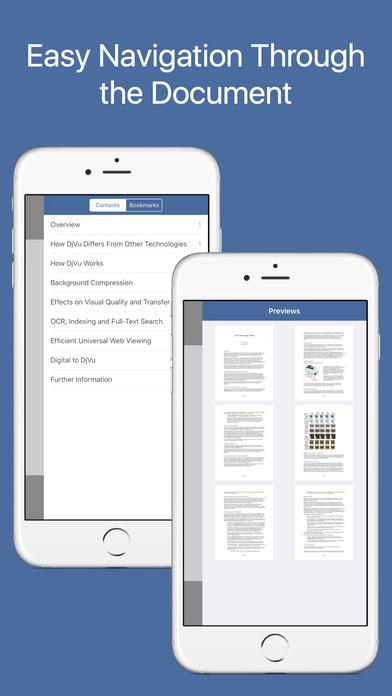 DjVu Reader Pro - Viewer for djvu and pdf formats Screenshots
