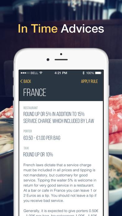 Fancy Tipping Guide Screenshots