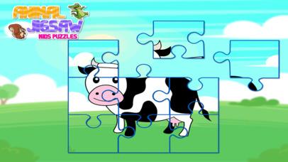 Animal Jigsaw Kids Puzzle screenshot 3