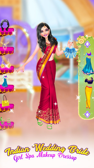 Indian Wedding Brides Game screenshot 2