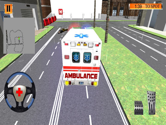 Hospital Ambulance Drive screenshot 4