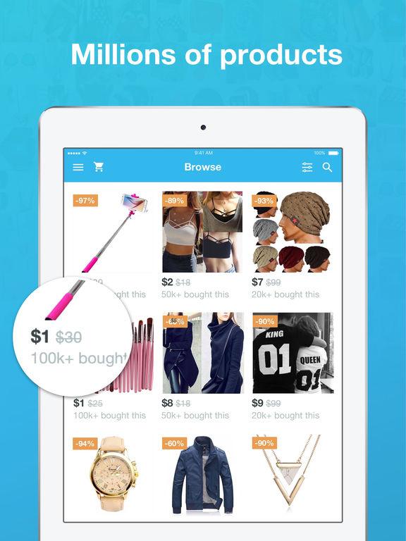 Screenshot #2 for Wish - Shopping Made Fun