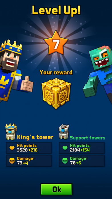 Great Royale Wars - Clash of Block screenshot 5