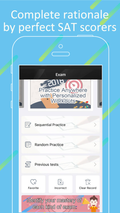 SAT Practice- SAT Prep,math,Vocab & Question App screenshot 3