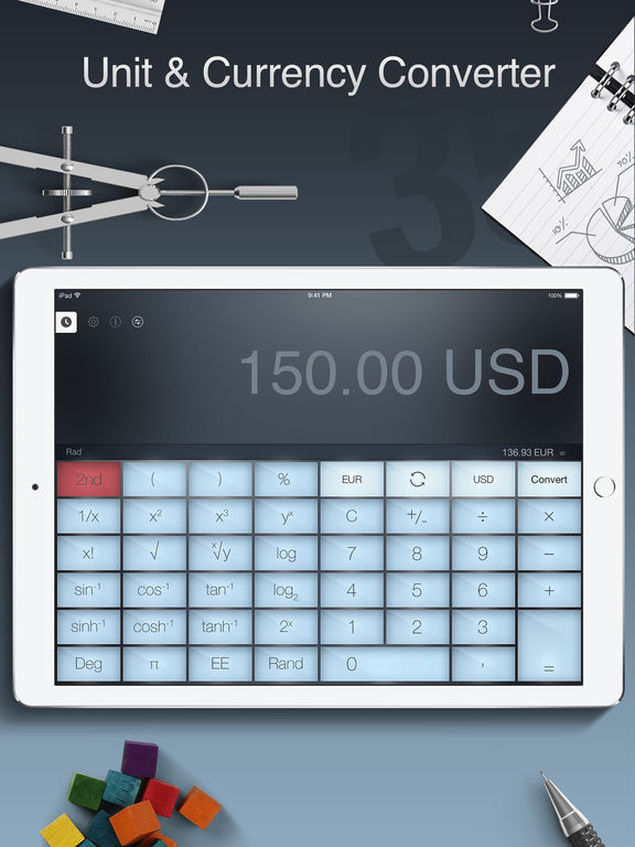 Screenshot #5 for Calculator Pro for iPad Free - Smart Calculator