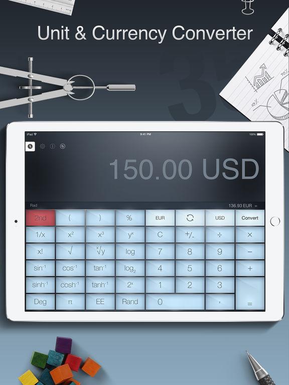 Calculator Pro for iPad Free - Smart Calculator iPad