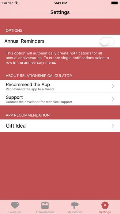 Relationship Calc iPhone Screenshot 4