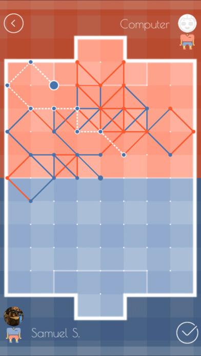 Paper Soccer X Free - Multiplayer Online Game Screenshot
