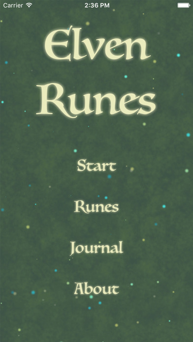 Elven Runes iPhone Screenshot 1