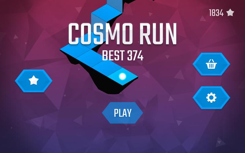 Cosmo Run Screenshot - 1