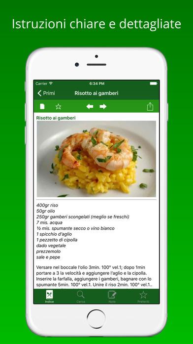 iRobot: Ricettario iPhone Screenshot 2