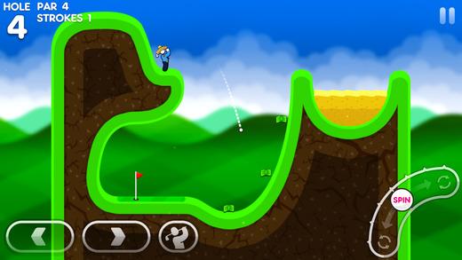 Super Stickman Golf 3 Games free for iPhone/iPad screenshot