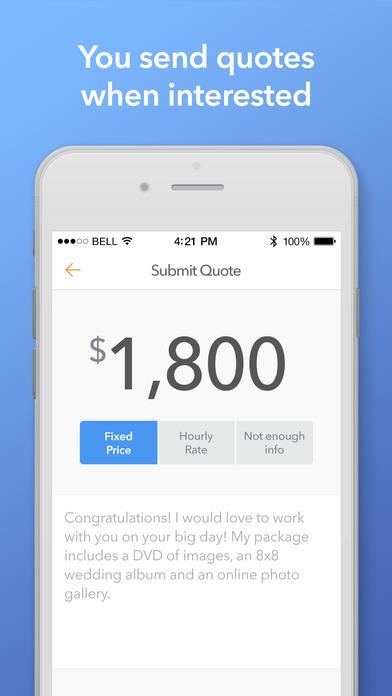 Thumbtack for Professionals app image