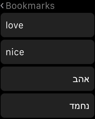 Hebrew Dictionary iPhone Screenshot 8