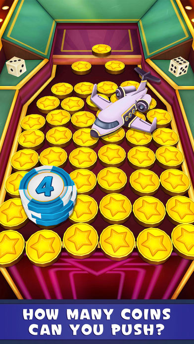 Screenshot 1 Coin Dozer: Casino