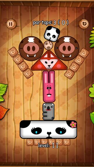 Panda Game - Cute Physics Game Screenshots
