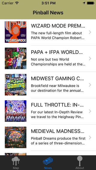 Pinfinder Pinball Finder iPhone Screenshot 3