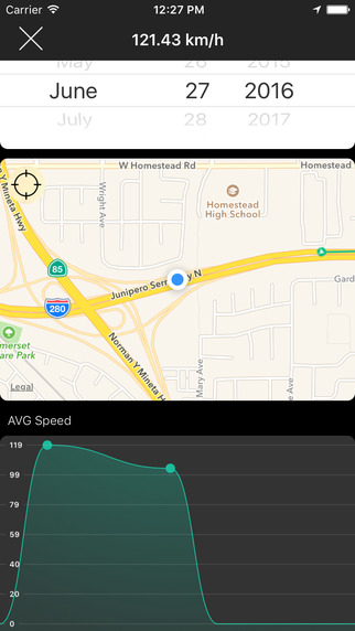 Speedometer [GPS] Screenshots