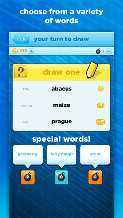 Screenshots of Draw Something Free for iPhone