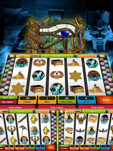 Lost Book of Horus & Ra Desert Nights Slots - Pharoah's Way Pokies God of Egypt-ipad-1