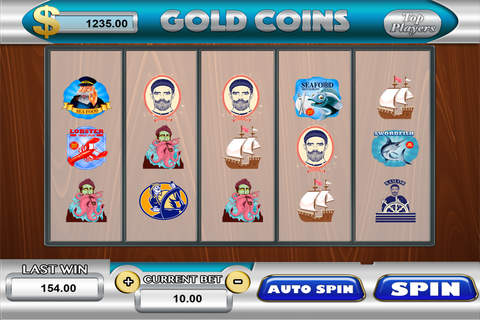 777 Pirate Treasure Casino Vip - Golden House Of Fun screenshot 1