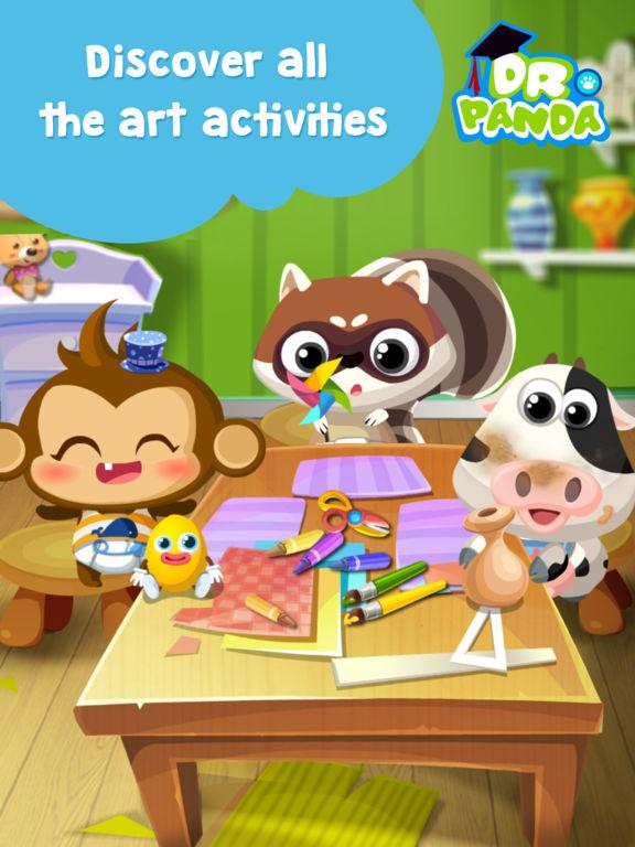 Dr. Panda Art Class Screenshots