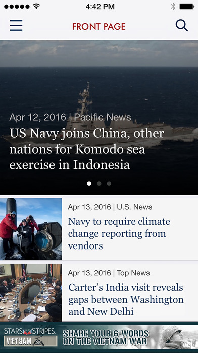 Military News from Stars and Stripes app image