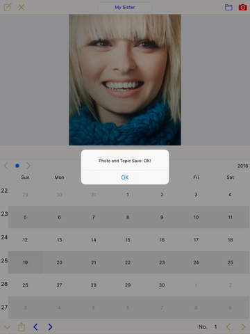 Photo Calendar (Paid) Screenshots