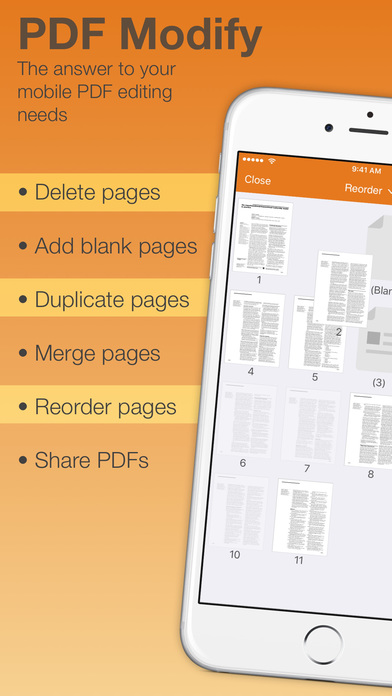 how to delete pages from pdf on iphone