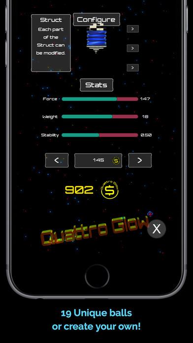 QuattroGlow 颜色搭配挑战游戏 - iPhone 截图 4