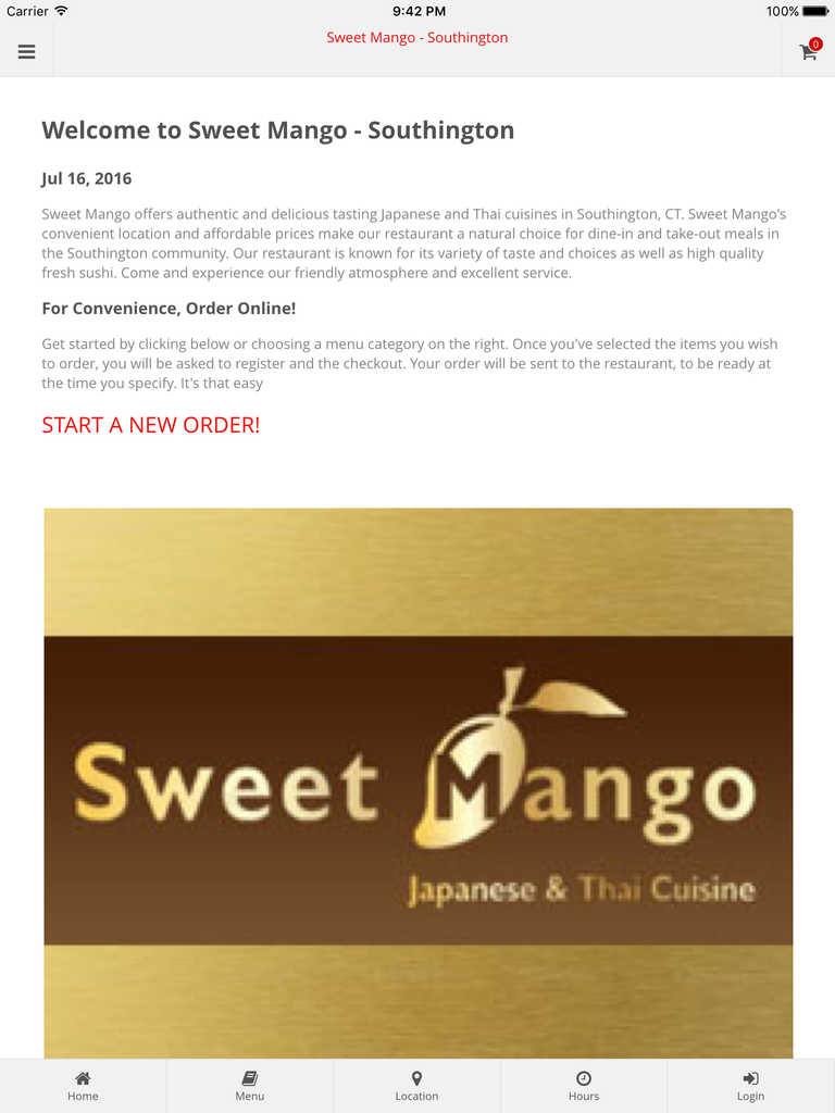 App Shopper: Sweet Mango - Southington Online Ordering (Food & Drink)