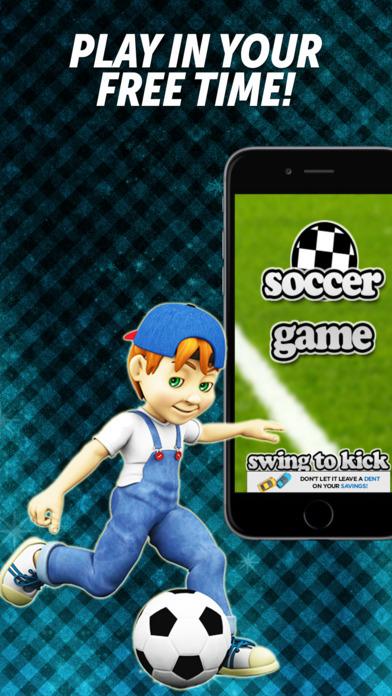 FREE Soccer Game iPhone Screenshot 1
