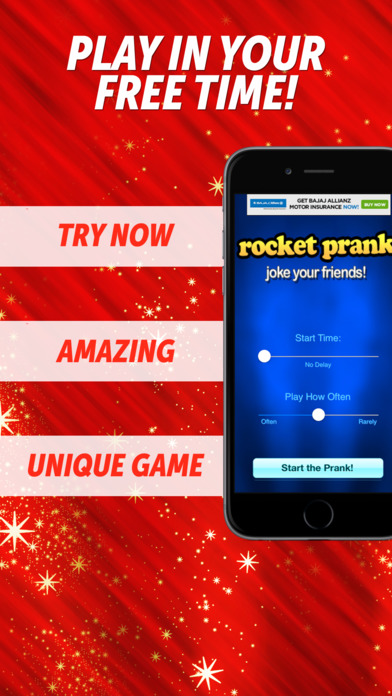 Awesome Rocket Prank iPhone Screenshot 1