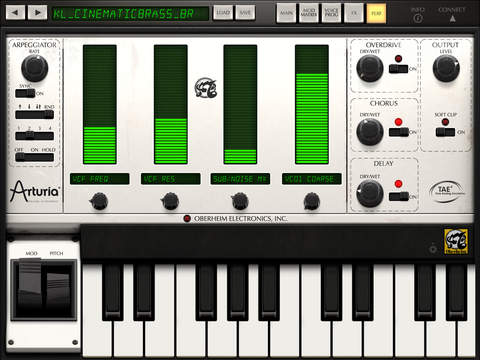 iSEM Synthesizer Screenshots
