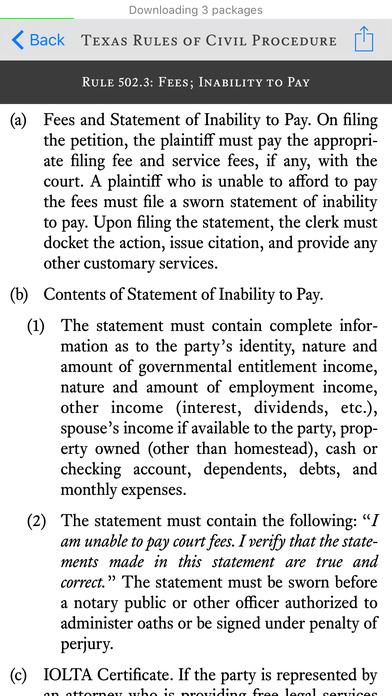 Texas Bar Legal - State Bar of Texas Computer & Technology Section iPhone Screenshot 2