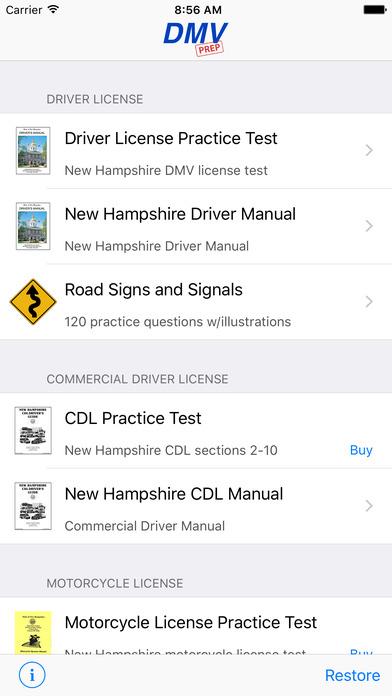 DMV Test Prep - Kansas iPhone Screenshot 1