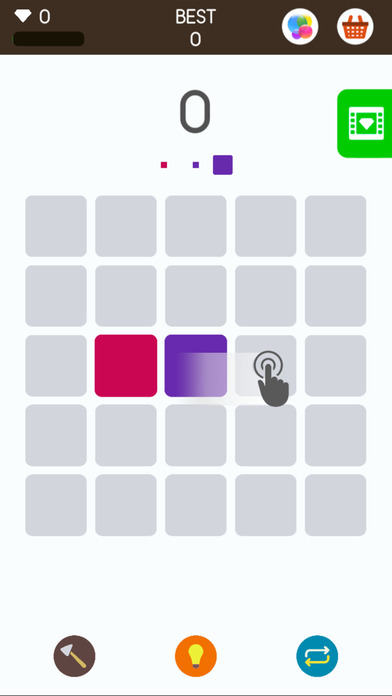 Squares: A Game about Matching Colors: by Simple Machine, LLC              Free