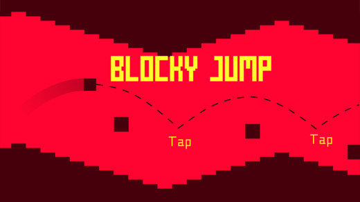 Blocky Jump! Screenshot