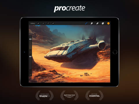 Procreate – Sketch, paint, create. Screenshots
