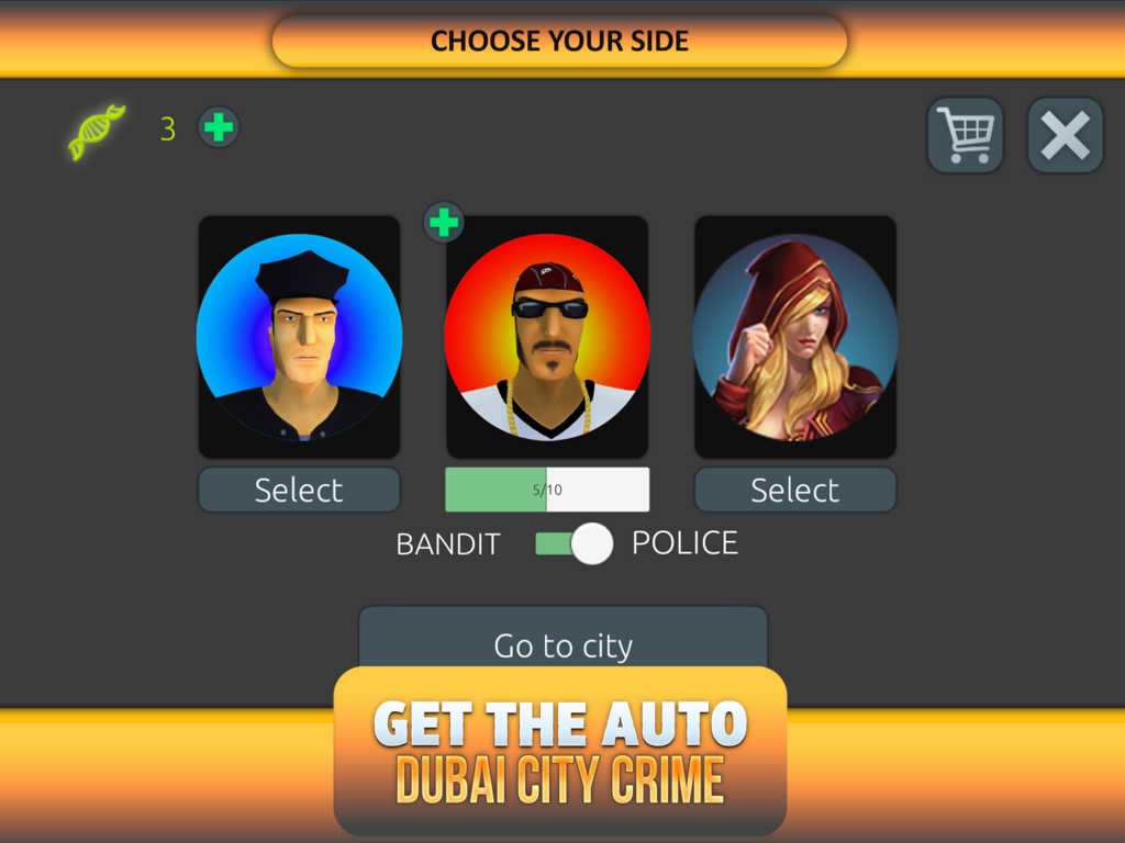 crime city how to get water