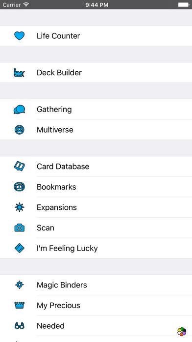 iMtG iPhone Screenshot 1