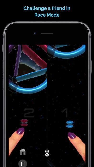QuattroGlow 颜色搭配挑战游戏 - iPhone 截图 5