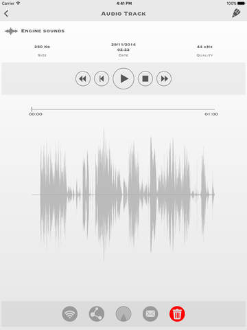 My Rec - Audio Recorder Screenshots