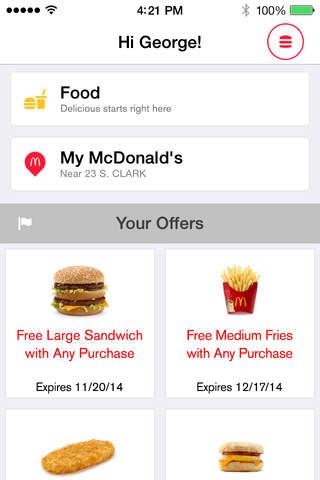McDonald's screenshot 2