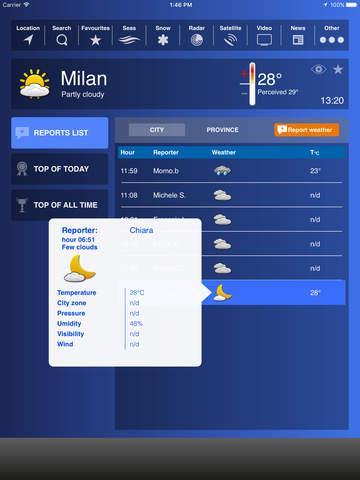 Meteo HD - Previsioni by iLMeteo.it screenshot 3