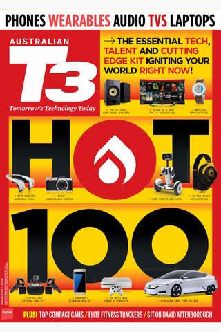 Australian T3: the gadget and technology magazine screen
