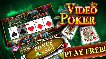 Screenshot 1 Видео Покер — Лучшие Card Game App! Теперь с прорезями! Wrong?