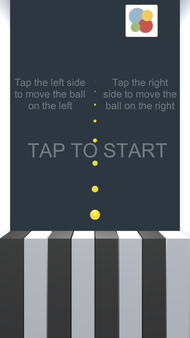 Piano & Ball Screenshot