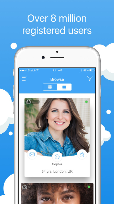 Screenshots of Cupid Dating - Your Personal Relationship Matchmaker for iPhone